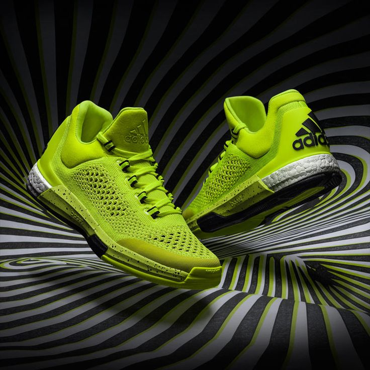 Adidas Basketball Shoes Lime Green