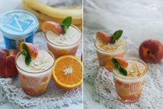 HAPPYFOOD - Смузи с персиком, апельсином и миндалем