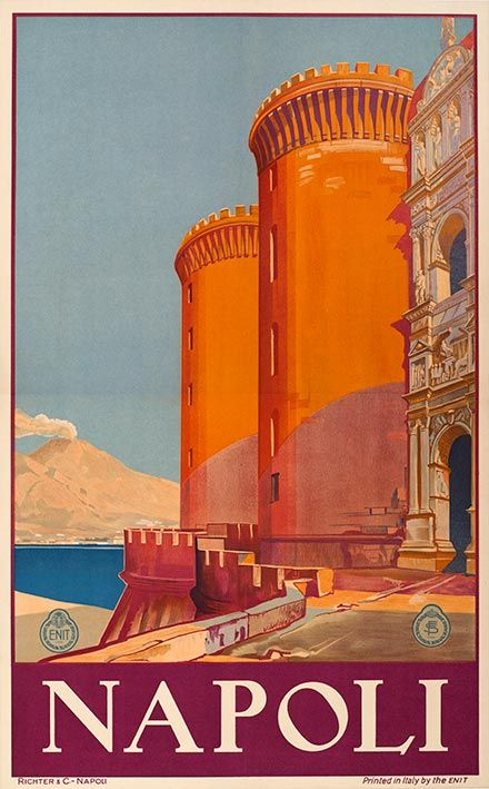 """""""Napoli"""" Enit - c1920 - Richter (ENIT)"""