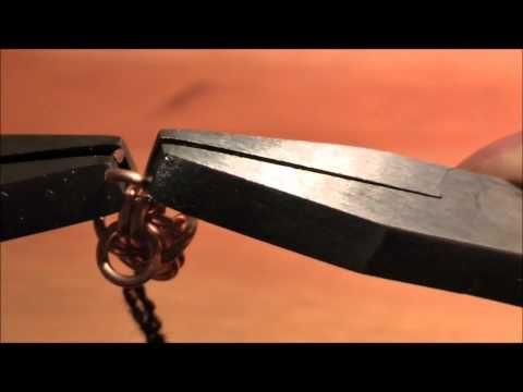 Hvordan lage bronsesmykker -kongekjede.wmv - YouTube