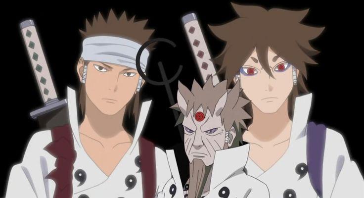 Hagoromo & Indra & Ashura