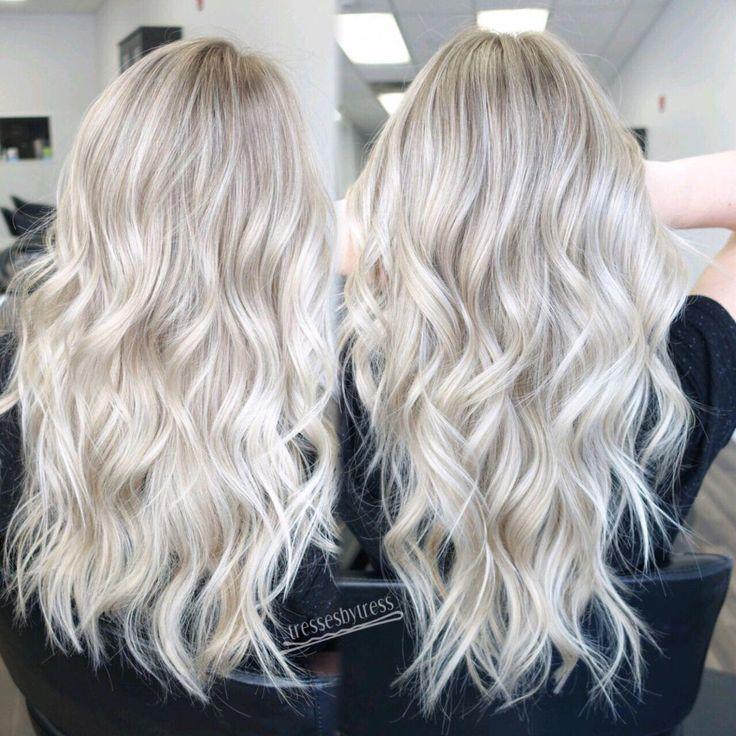 WELLA Color Charm – T18 White Lady #hair #blonde #blondehair #platinum #whiteblo…