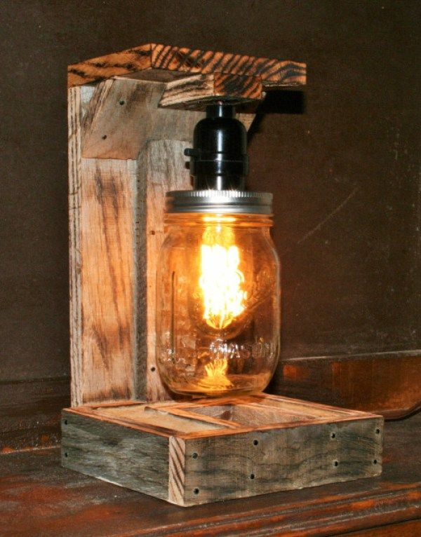DIY Pallet Lamp Projects | EASY DIY And CRAFTS