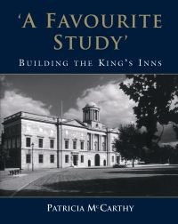 'A Favourite Study' Building the King's Inns (by Patricia McCarthy) Published by Gill & Macmillan (2006). The book traces the history of King's Inns from 1541 right up to the present. Richly illustrated with photographs, maps, drawings and plans, this is a comprehensive survey of an important part of Ireland's architectural heritage, which accommodates an active, and evolving institution.  Price - €20. Available at kingsinns.ie