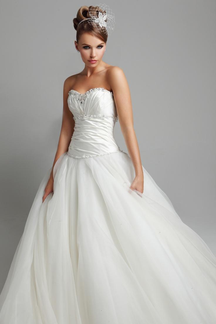 Bhs arabella organza wedding dress
