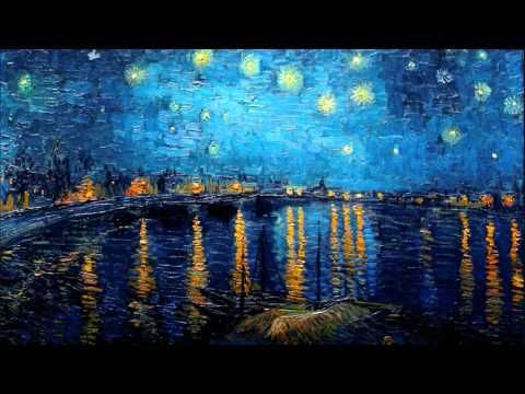 Claude Debussy - Suite Bergamasque - Clair de Lune (Painting is Starry Night Over the Rhone by Vincent van Gogh)
