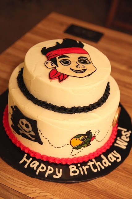 Jake & the Neverland Pirates birthday cake