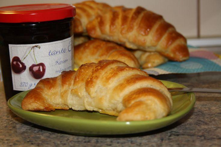 Fotorecept: Domáce maslové croissanty