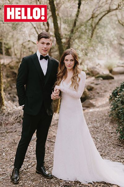 Riley Keough`s wedding dress has been revealed by Hello magazine. What do you think of the gown?