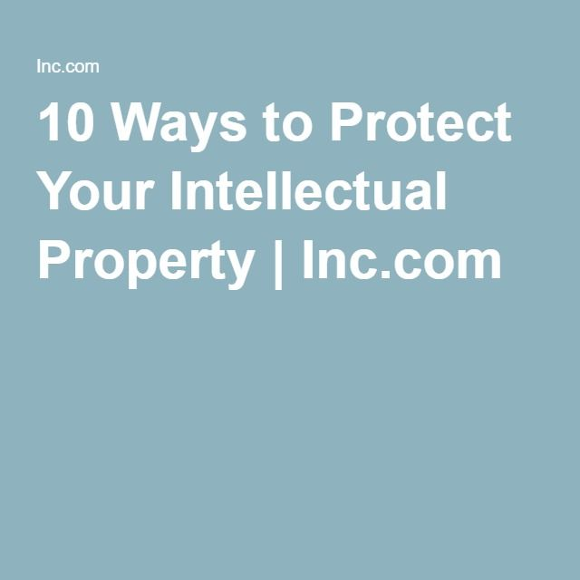 Intellectual Property Protection: Best 25+ Intellectual Property Ideas On Pinterest