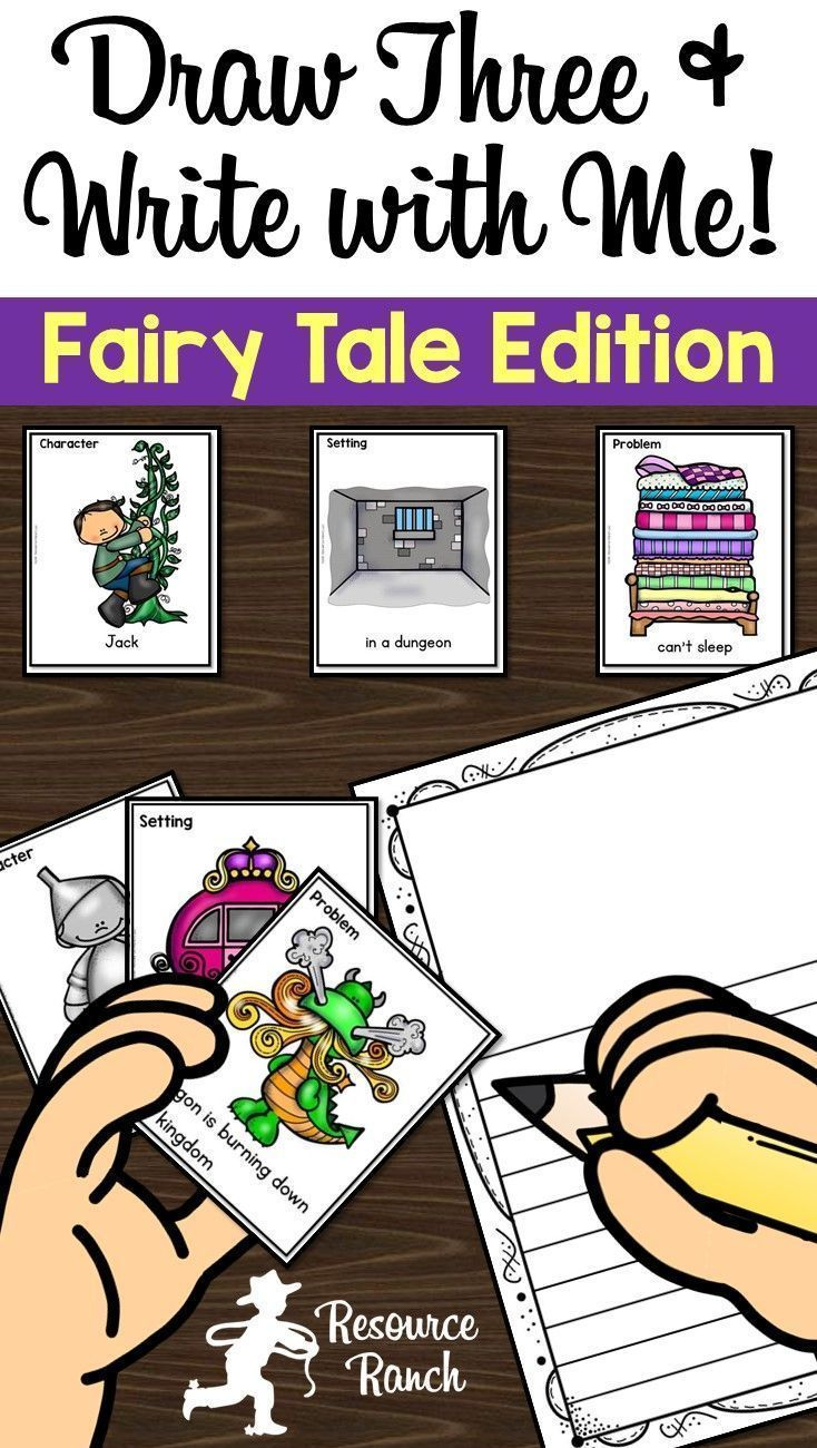 This Fairy Tale themed writing center will get even reluctant writers excited! Encourage students to put a creative twist on traditional fairy tales by drawing surprising character, setting, and problem combinations to write about.