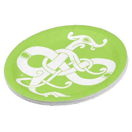 Irish Paper Plates - paper gifts presents gift idea customize