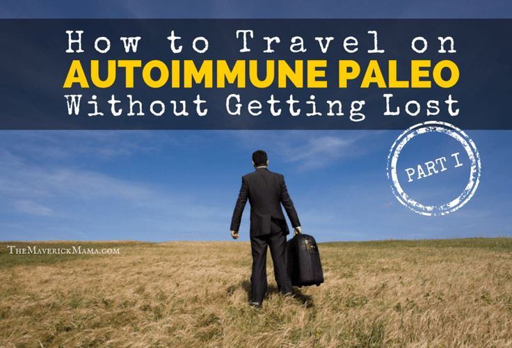 Traveling on the Autoimmune Paleo Protocol can be really challenging. The Maverick Mama has tips on how to stay AIP and sane whether by train or by plane.