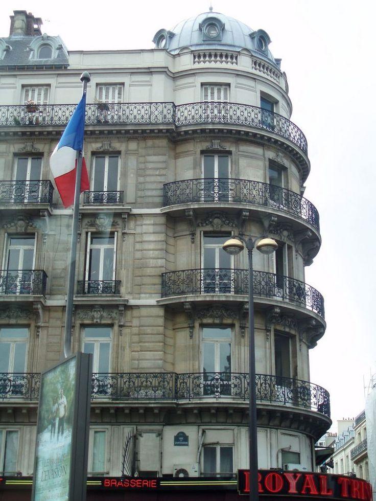 Haussmann architecture. Merci Monsieur Haussmann for making Paris so beautiful!