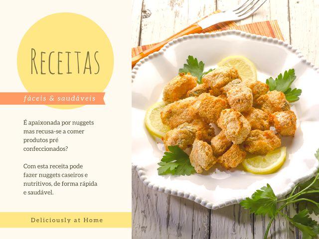 Receita | Nuggets saudáveis