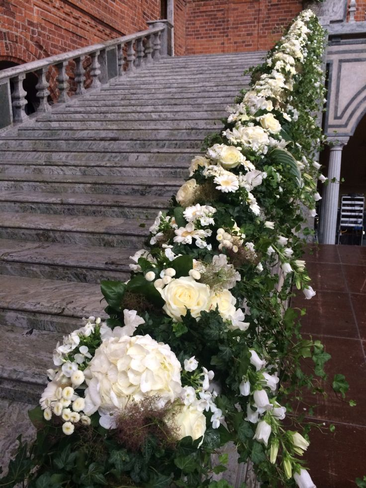 #trappdekoration #fest #bröllop @frökennylund