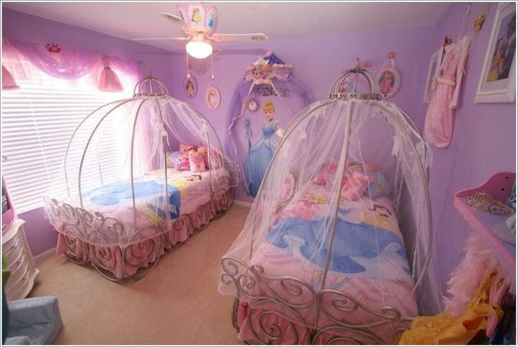 Go Royal Like Cinderella With Carriage Beds Kid Rooms