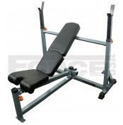 Force USA Adjustable Olympic Bench Press  Get a full-body workout with the strongest and most versatile fully adjustable weight bench available. The Force USA Adjustable Olympic Bench (F-AOB) gives you a Flat / Incline / Decline Bench, 0-90 Degree Shoulder Press, Leg Extension / Leg Curl and with the option of a Preacher Curl Pad all in one.   For more info visit: http://www.gymandfitness.com.au/force-usa-adjustable-olympic-bench-press.html#.UaPzO9IwfB0