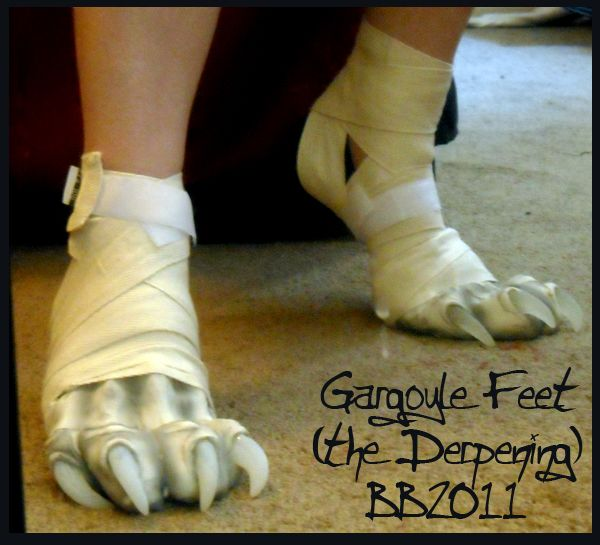 Gargoyle feet again by Artsquish.deviantart.com on @deviantART