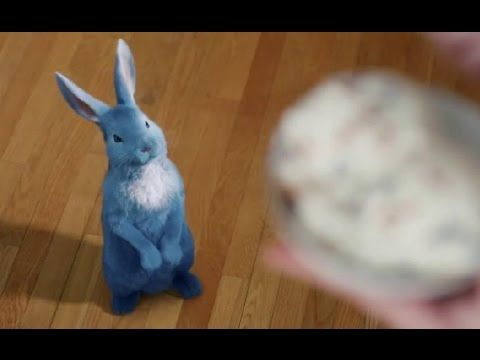 Blue Bunny Ice Cream PB 'N Cones TV Commercial, 'By a Hare' Song by Kenny Loggins - YouTube