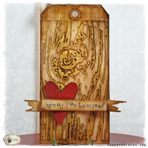 Wood You Be Mine — Tammy Tutterow Designs