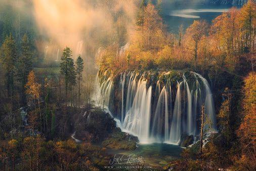 Heavens fall - Photography by Jokin Romero jokinromero.com Plitvicka Jezera National Park Croat
