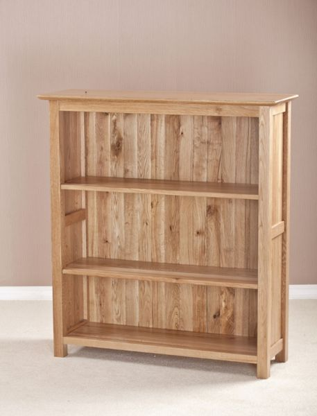 CAMBRIDGE SOLID OAK SMALL BOOKCASE
