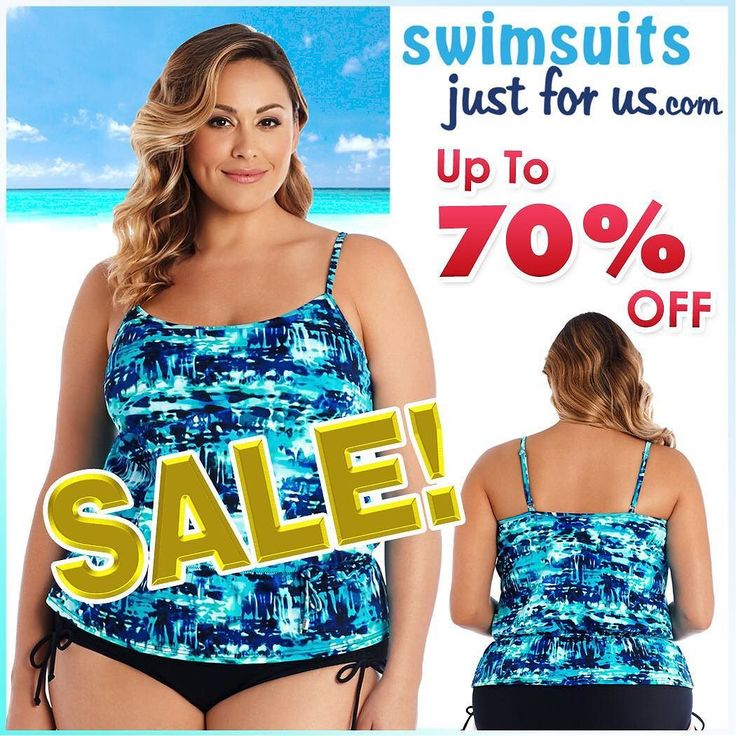 "Stock up on coverups and swimwear with our 2017 Swimwear Clearance with UP TO 70% OFF SALE!  WOW! Shop our website ""Sale and Clearance"" section for discounted Plus Size Swimwear and enjoy the savings!!!  Sizes 16W-32W. PLUS get free shipping: USE CODE C2017 at checkout  #shopplussize #curvyfashion #plussizeswimwear #plussizefashion #loveyourcurves #shopplussize #plussize #fashionnews #curvyfashion #plussizeswimwear #psblogger #psblog #loveyourcurves #realwomenhavecurves #shopplussize…"