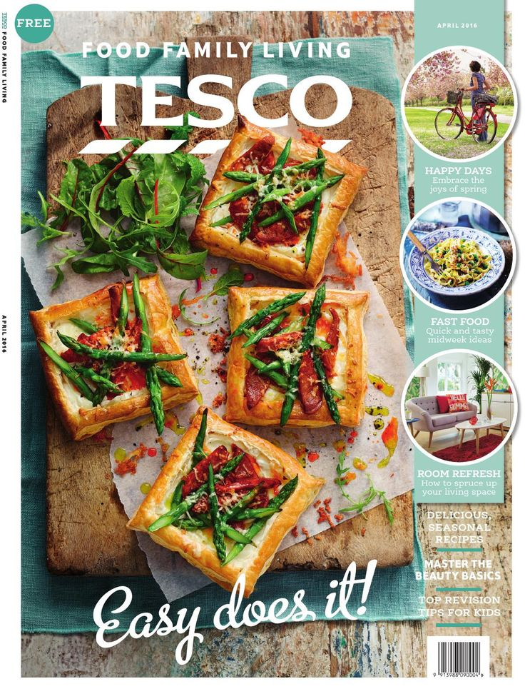 Tesco magazine – April 2016