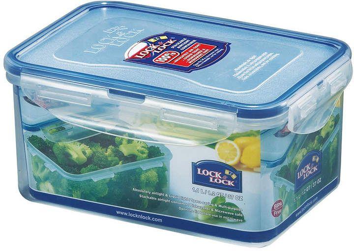 Lock N Lock Easy Essentials Rectangular 37 Oz Food Storage Container Reviews Bakeware Kitchen Macy S Boite Elissa