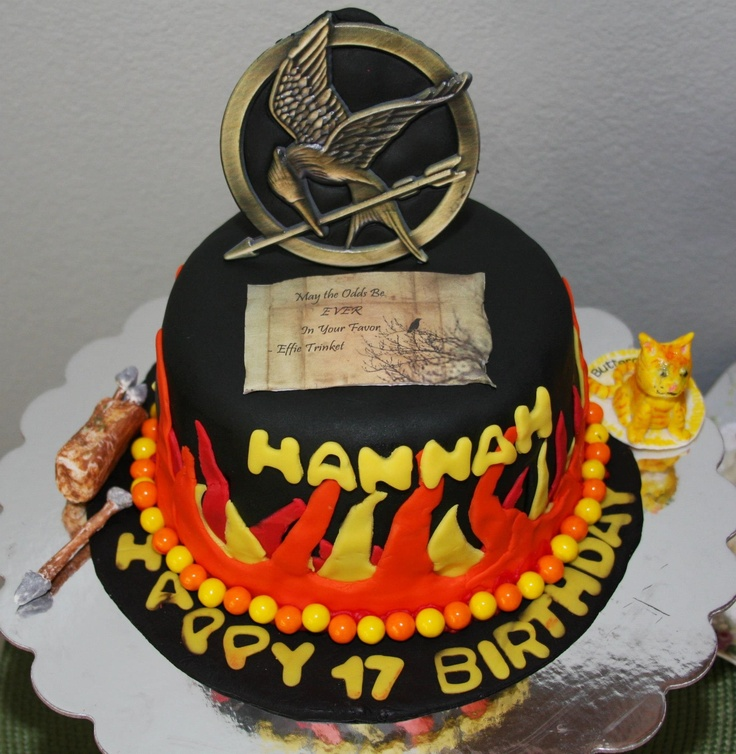 68 Best Cakes Hunger Games Images On Pinterest The