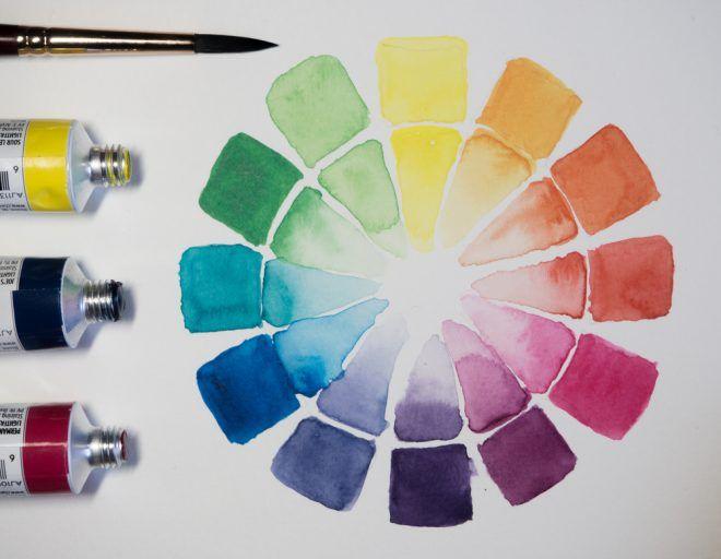 14 Tipps Zum Farben Mischen In Der Kunst Farben Mischen Farben