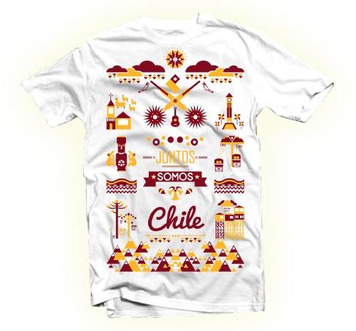 Juntos Somos Chile by Edwards Eddies, via Behance