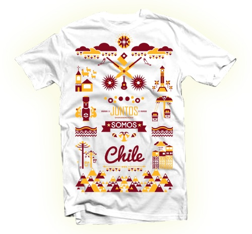 Juntos Somos Chile by Edwards Eddies, via Behance