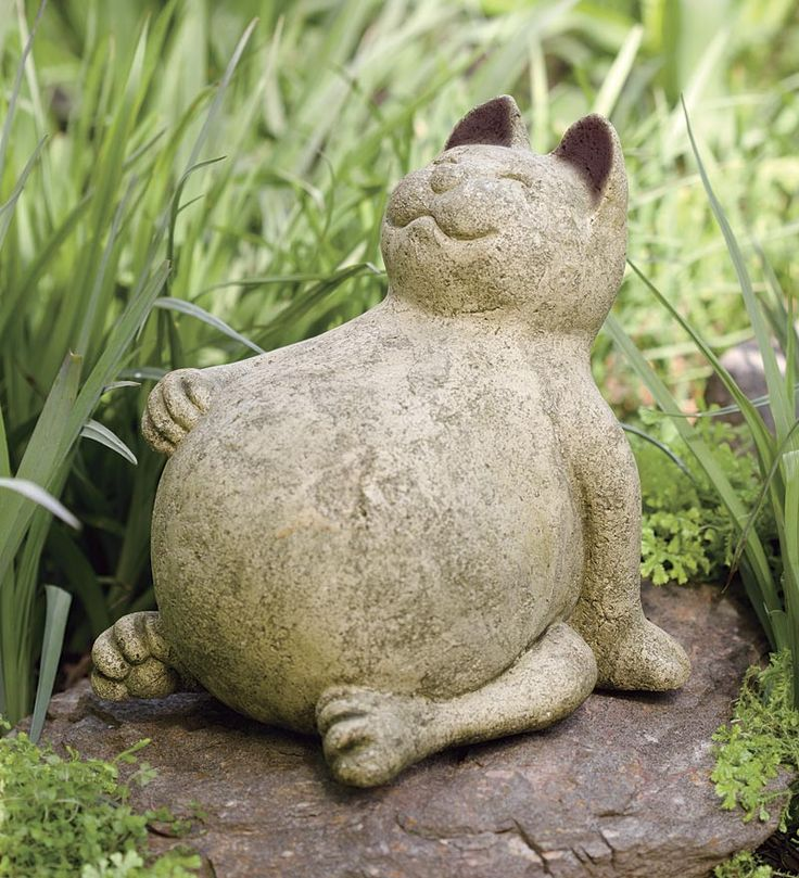 Our cheerful (and well-fed) cat is crafted from volcanic ash, pumice and natural stone from Mount Pinatubo, one of the biggest eruptions in the world. Philippine artists are able to create handmade ash décor from the disaster that once destroyed their environment. This weather durable happy cat will bring joy to any indoor space, garden or porch with his welcoming personality! #Christmas #holiday #gift #gifts #ideas #for #pet #lovers #cat #cats