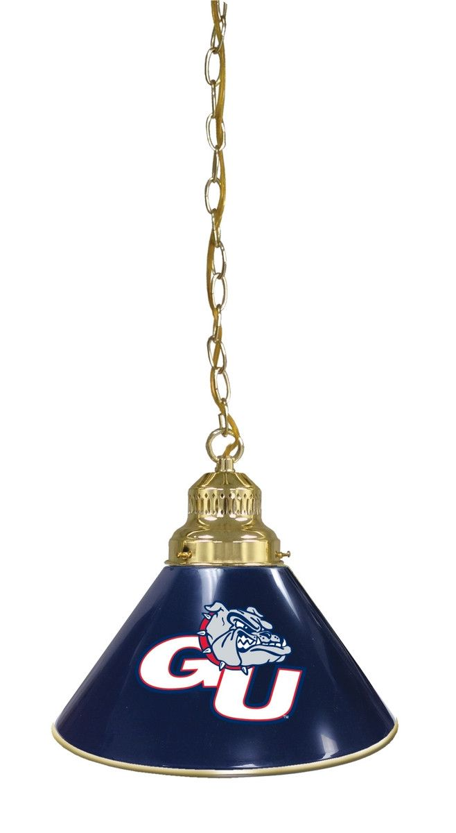 Single Pendant Billiards Light - Gonzaga University Bulldogs