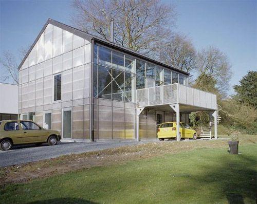 Les 25 meilleures id es de la cat gorie maison modulaire for Maison moderne ossature metallique