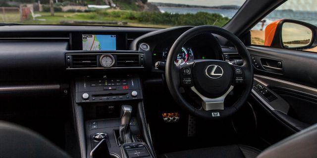 2018 Lexus RC 350 F interior