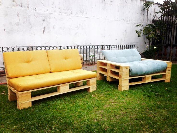 Pallet Garden Sofa Set | 99 Pallets