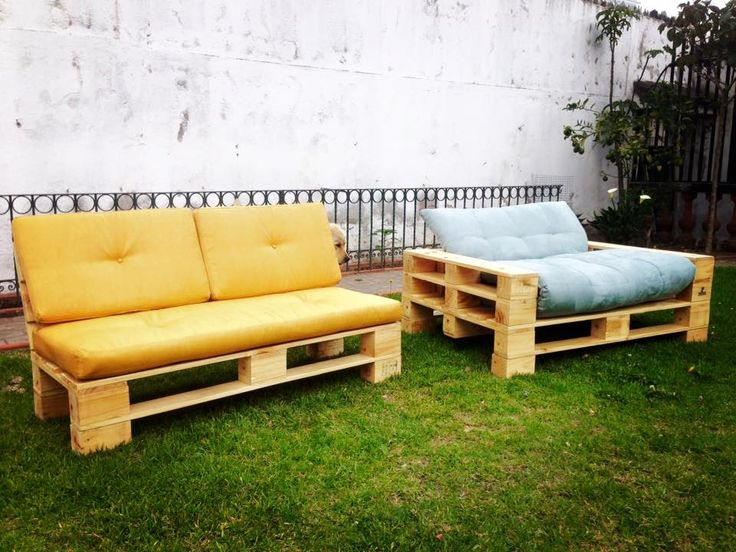 Pallet Garden Sofa Set | 99 Pallets