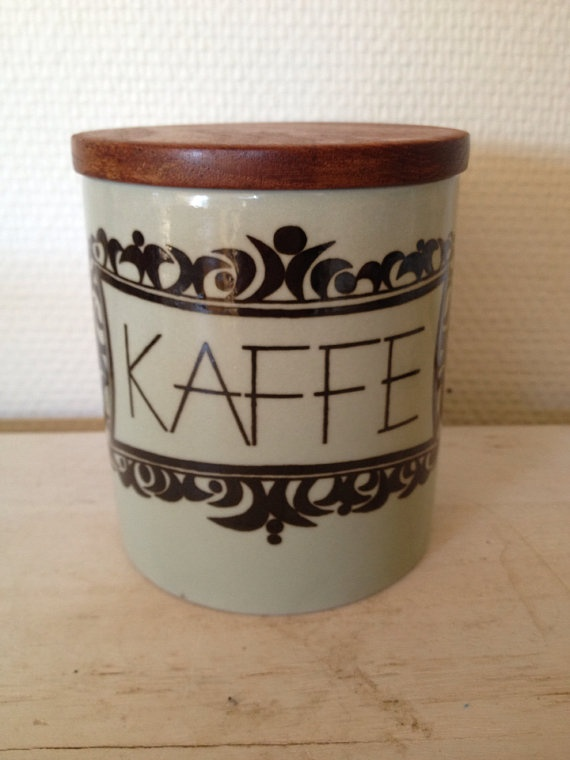 Rorstrand kulinar Marianne westman coffee canister by LivsLykke