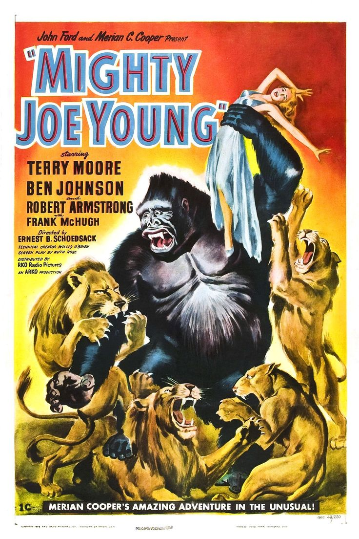 Mighty Joe Young......1949 | cool movies | Pinterest