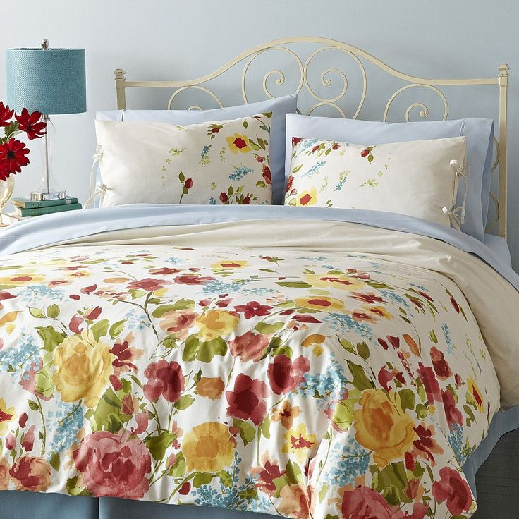 How To Bring Summer Vibes Into Your Home 6 Color Ideas: 1000+ Ideas About Floral Bedding On Pinterest