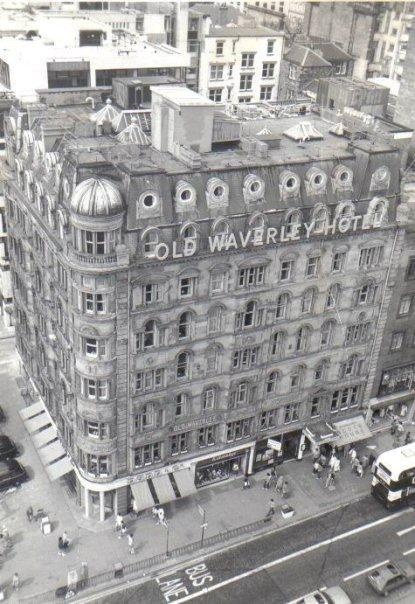 The Old Waverley hotel taken in 1983! Book your next stay at www.oldwaverley.co.uk.