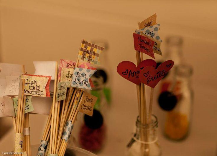 Organización de puestos. wedding decor. www.uncuentodeboda.com