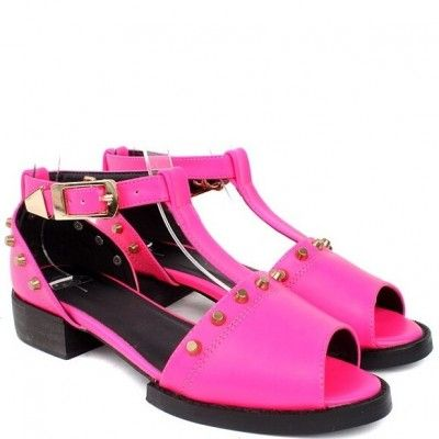 Fashion Style Sweet Pu Peep Toe Dreamlike Sandals Shoes