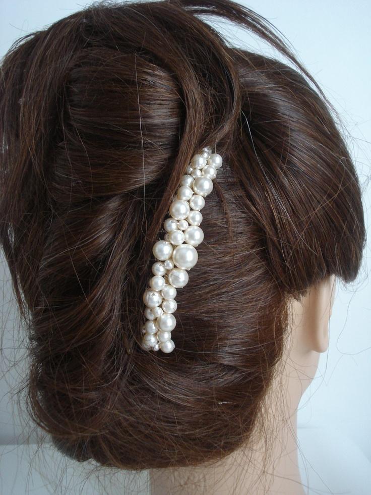 Bridal Comb Pearl Hair Accessories Wedding Hair Piece