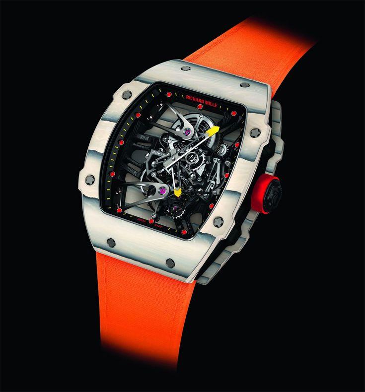 La montre Richard Mille RM 27-02 portée par Rafael Nadal lors du dernier tournoi de Roland Garros sera la star de l'événement Only Watch 2015.