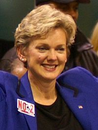 Jennifer Mulhern Granholm (born February 5, 1959) is an American politician, educator, author, and political commentator who was the 47th governor of Michigan.