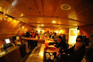 A Place to Warm the Soul: Wine Bar-Coffee House, McMurdo Station, Antarctica